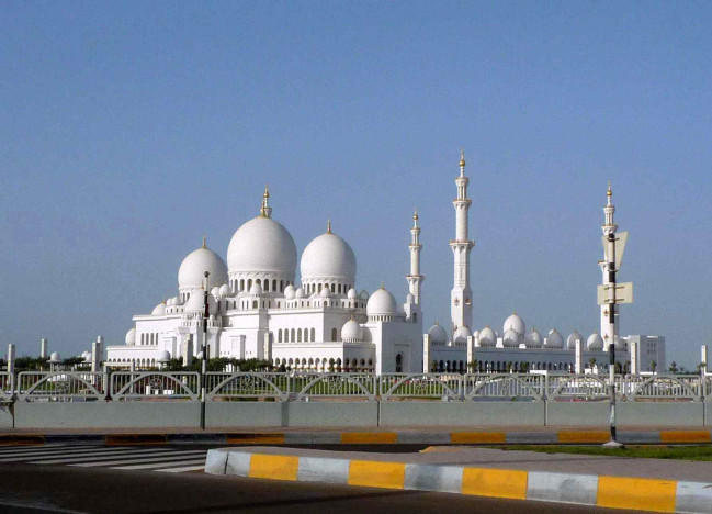 The White Mosque Abu dhabi