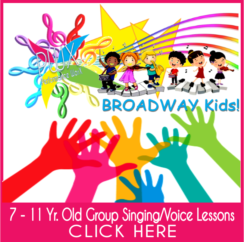 CHILDREN'S SINGING LESSONS