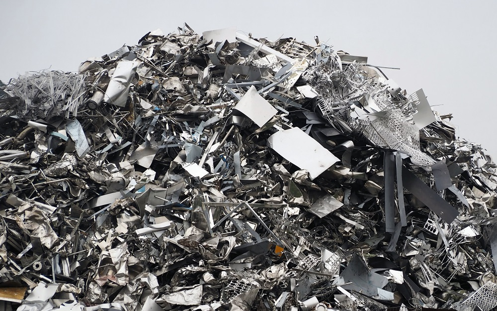 Pile of Metal Scraps