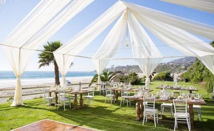 Salt Creek Beach Wedding Canopy