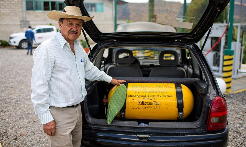 Rogelio Sosa, socio de Nopalimex