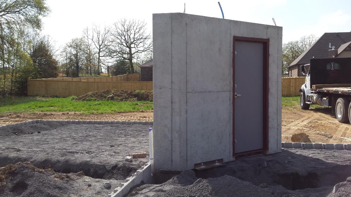New Construction Safe Room