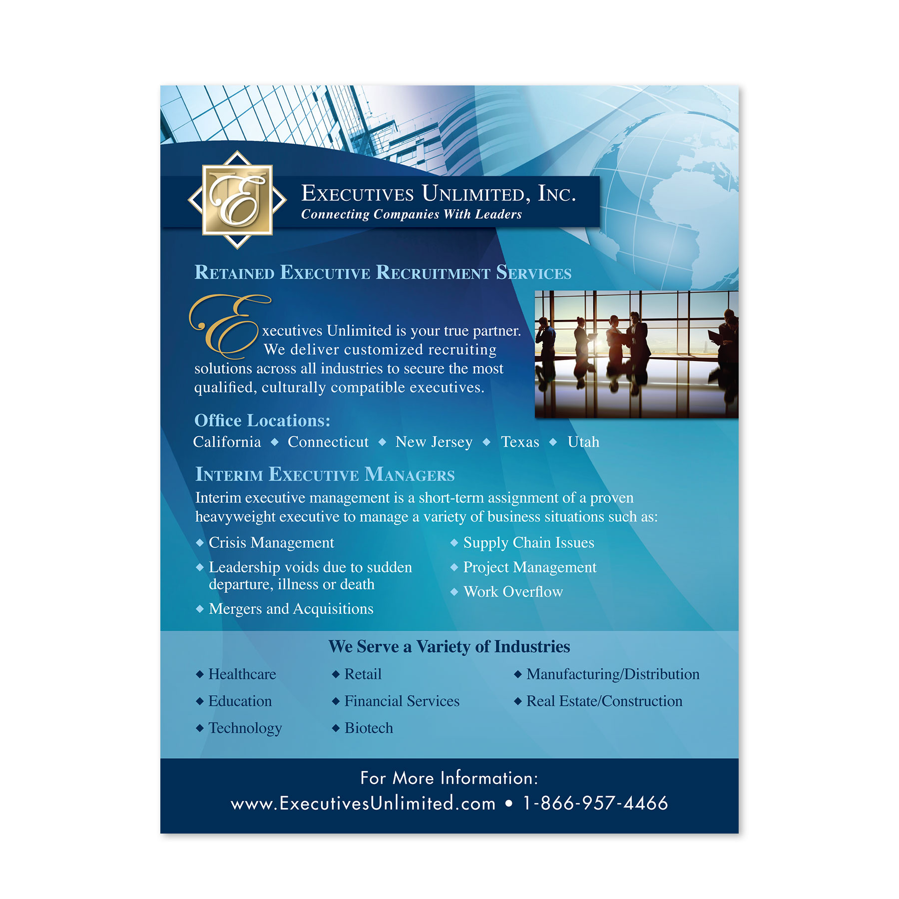 Executives Unlimited EMail Brochure