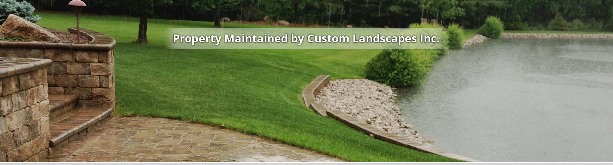 Custom Landscapes Inc. In Decatur, IL Is A Landscaping Company.