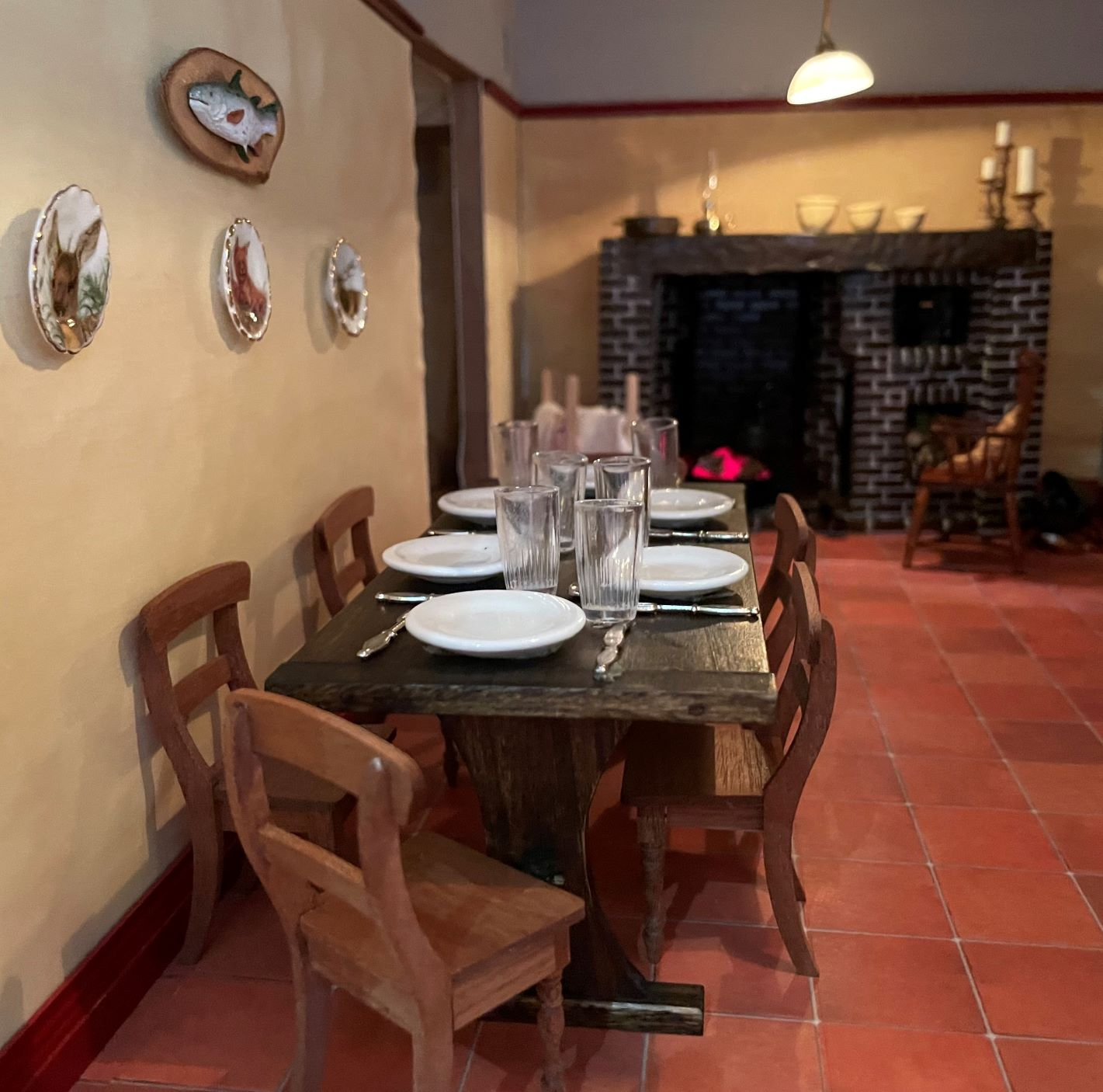 Servants' Dining Area