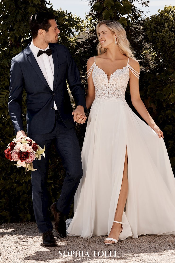 Sophia Tolli Suit and Bridal Gown 2