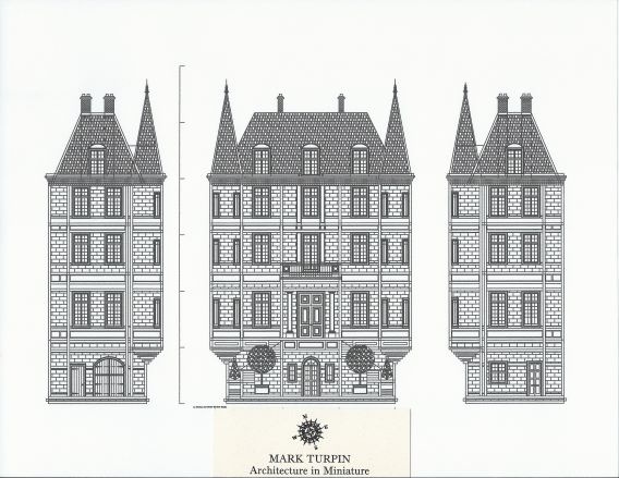 Le Château de L'Amour Concept Drawings