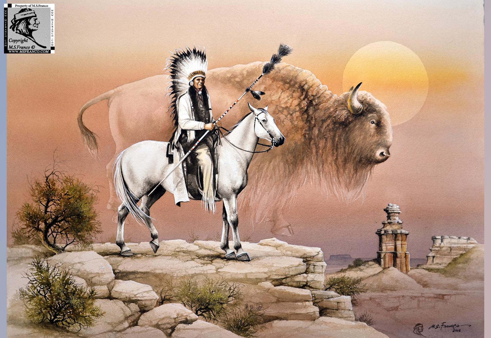 """"""" Comanche Spirit, Quanah Parker """""""