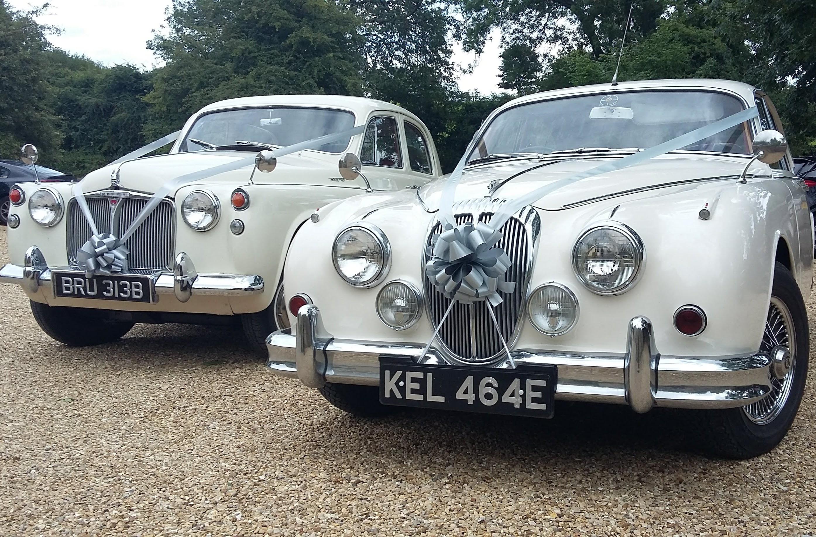 Rover P4 & Daimler V8