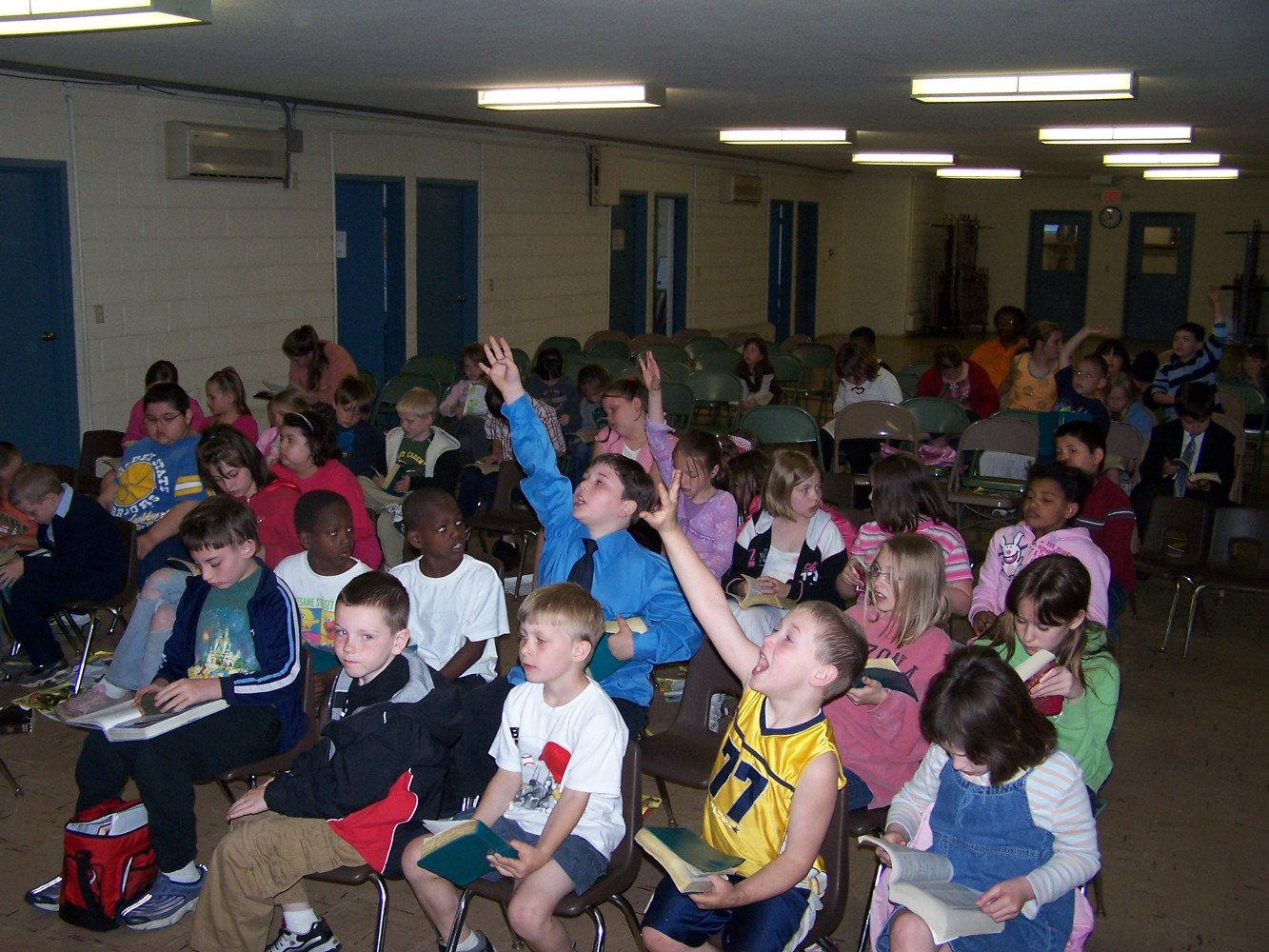 Children Answering Bible Questions