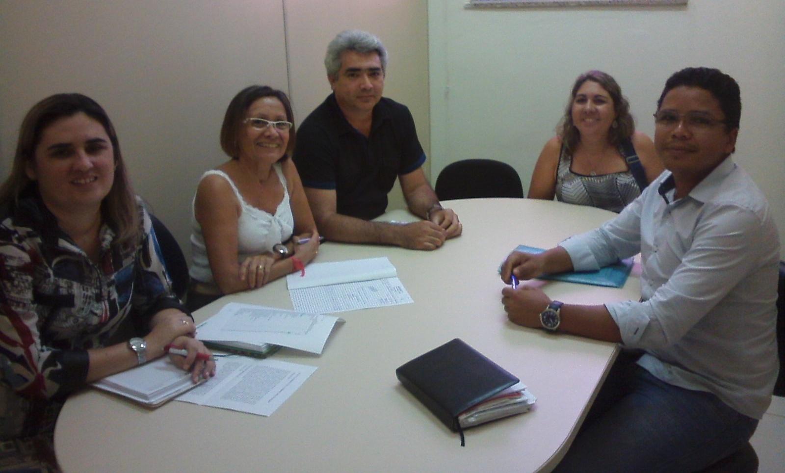 REUNIÃO COM A COMISSÃO DE CONCURSOS DA UEPA