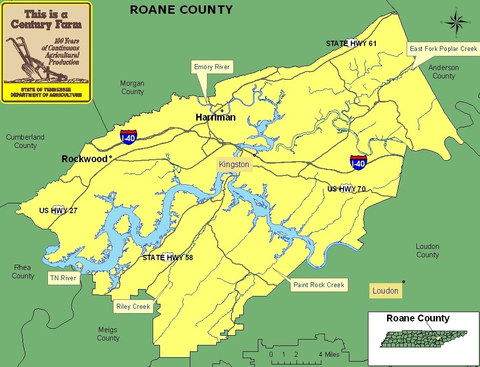 Roane County, TN