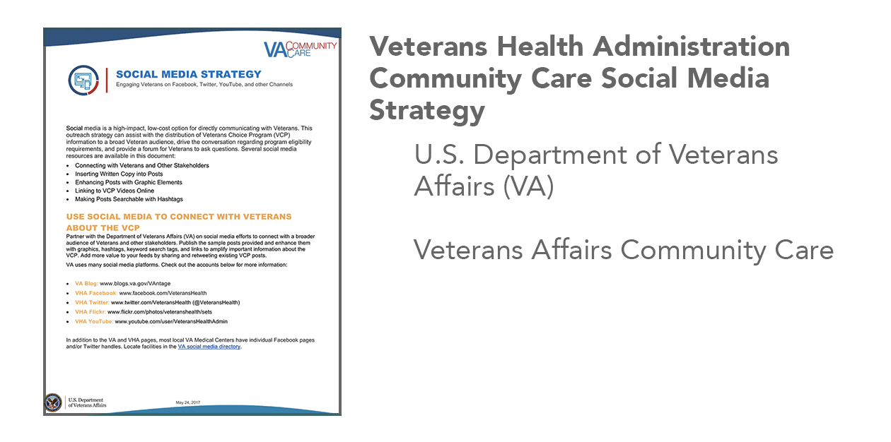 Veterans Affairs Social Media Strategy