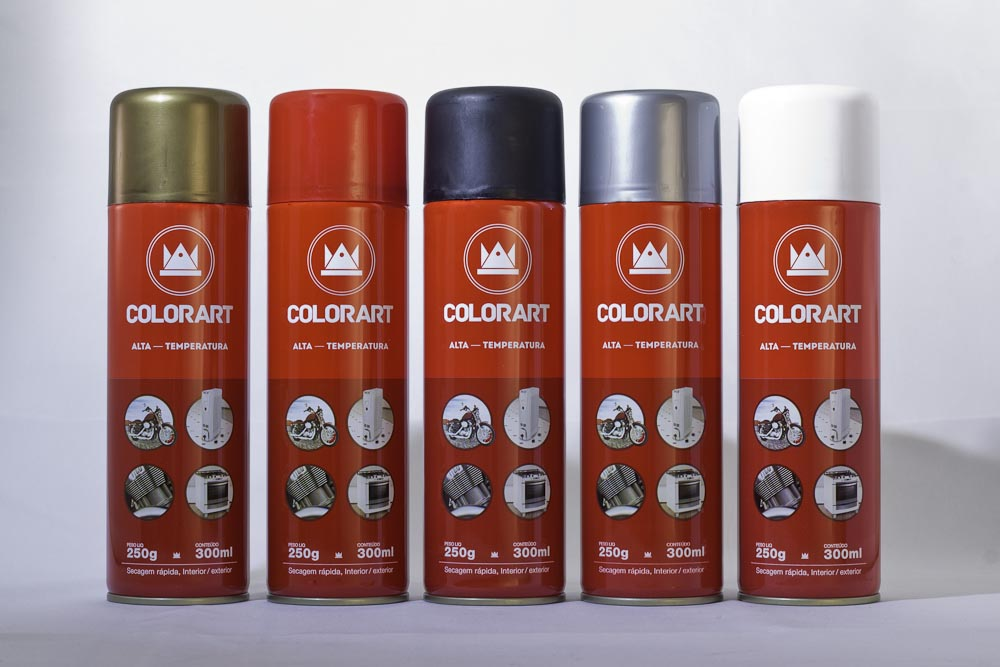 SPRAY ALTA TEMPERATURA SECAGEM RÁPIDA INT/EXT