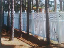 White Wooden Fence 6