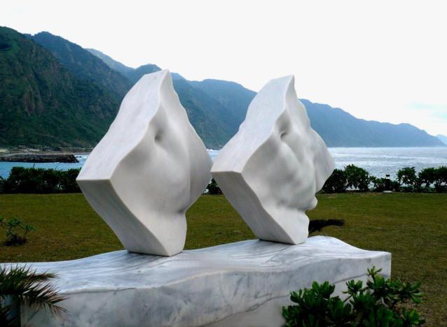 Endless  love, marble -  Hualien, Taiwan, ROC