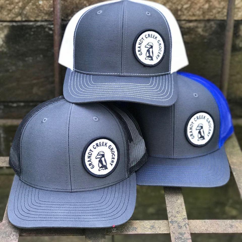 Grandy Creek Grocery Hats