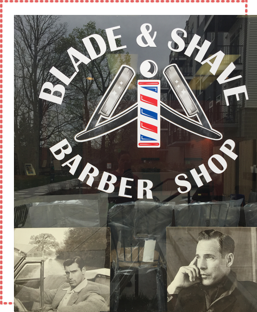 Barber Shop Window 2