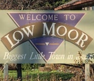 Welcome to City of Low Moor Sign