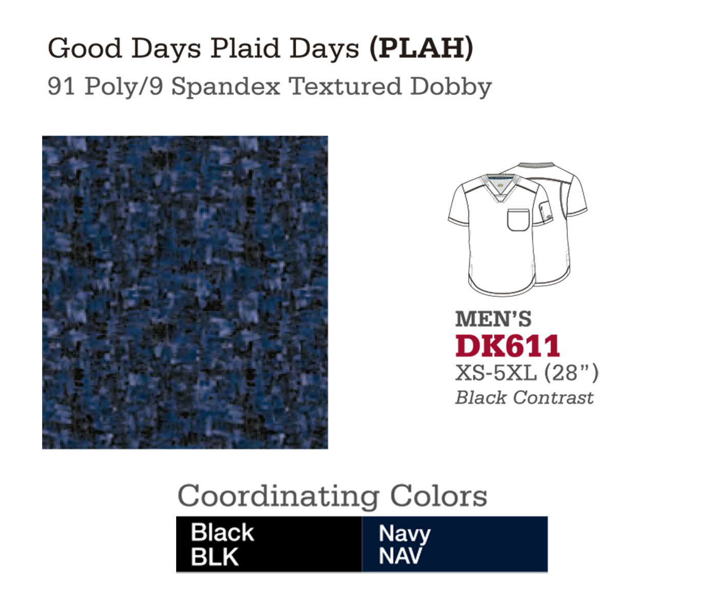Good Day Plaid Days. DK611.