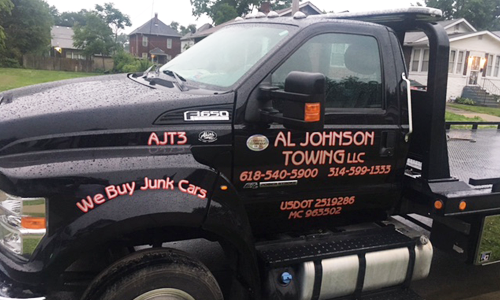 Al Johnson Towing Truck