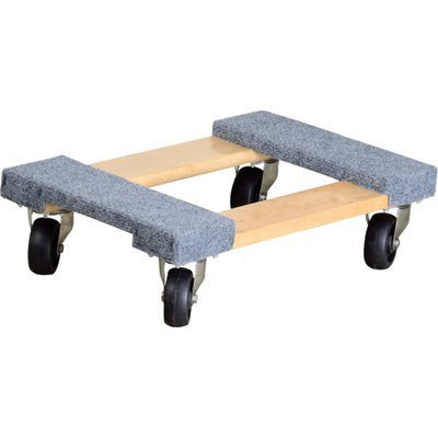 "4 Wheel Dolly 12""x18"" 400lb $5/half $5/day"