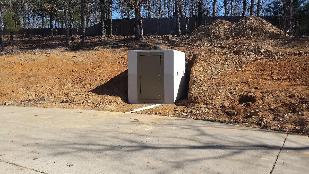 Bunker Style In-Ground Shelter