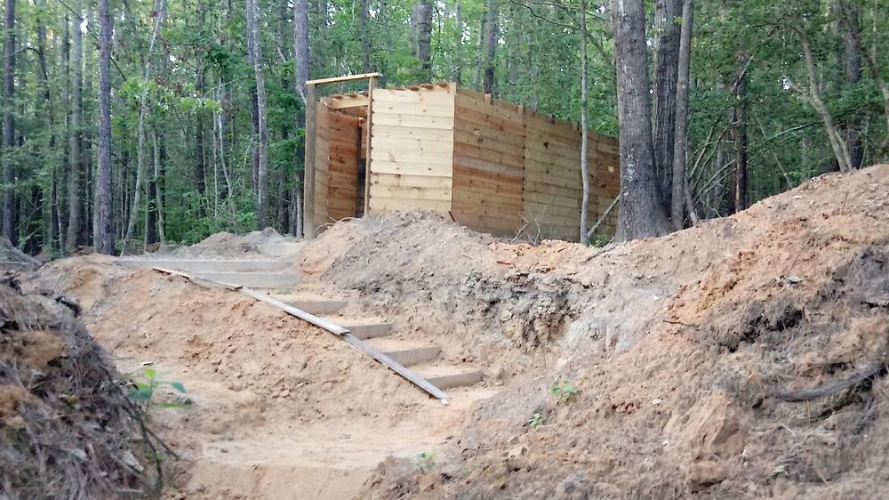 L-Shape Bunker