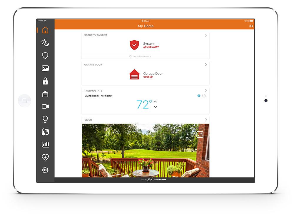 Resi Dashboard on iPad