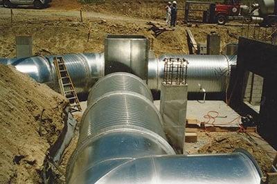 Large Round Underground Duct 2