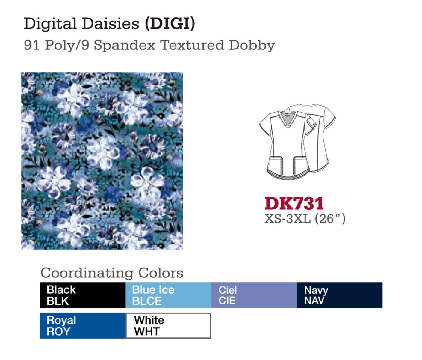 Digital Daisies. DK731.