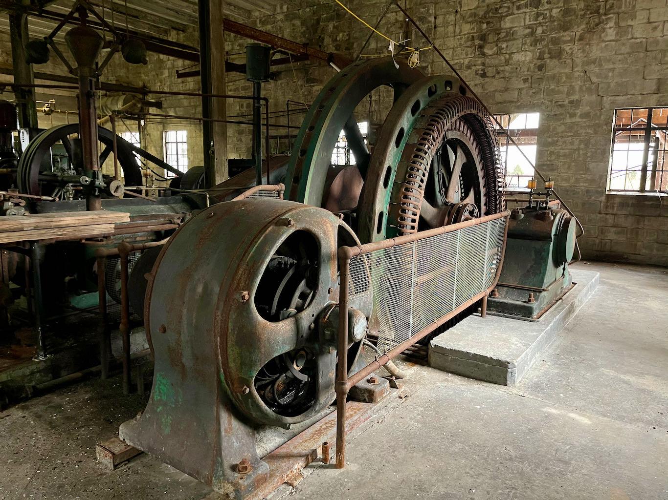 Steam Turbine - Old Samuels Distillery