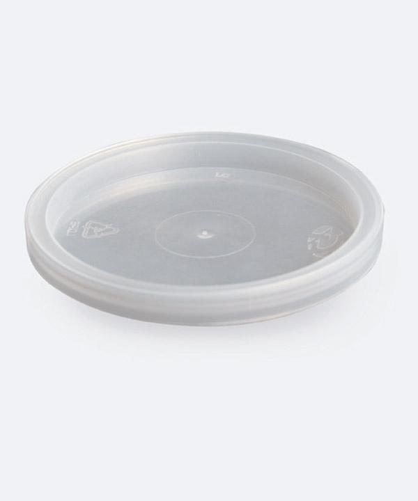 Tapa 80mm Presión Transparente