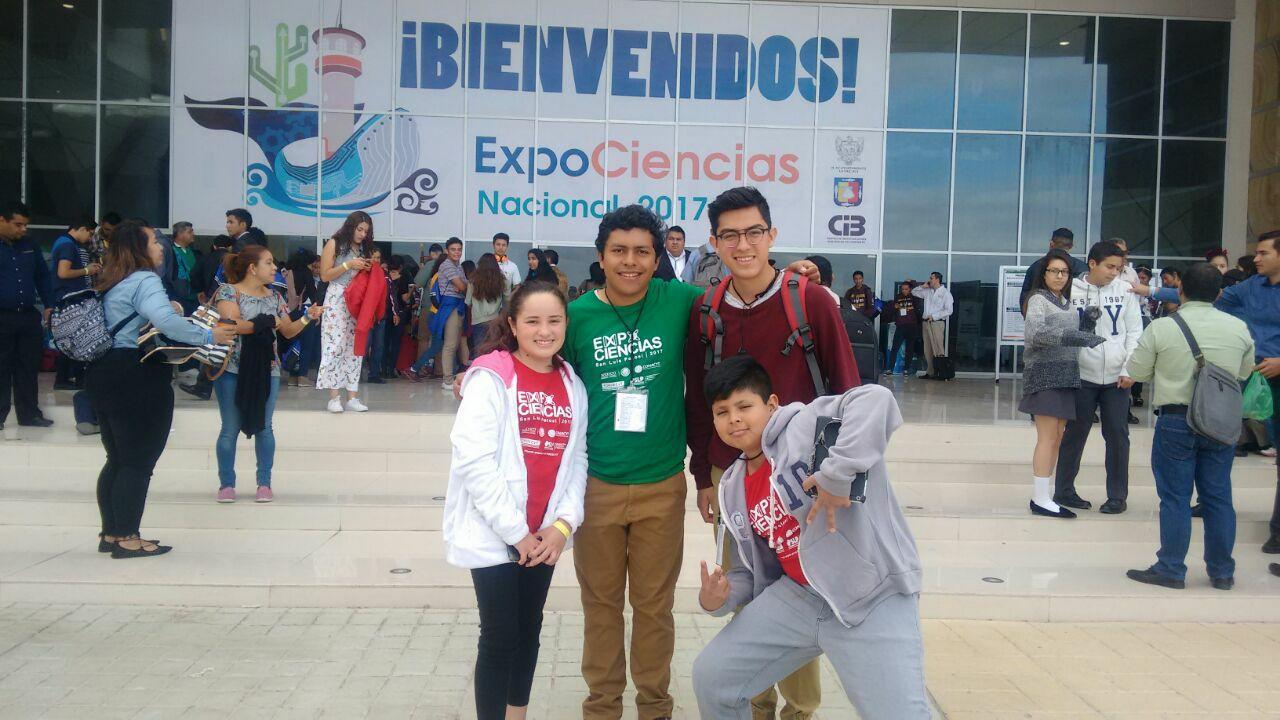 Participación en Expo ciencias Nacional