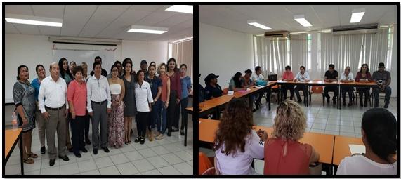 30/10/2018 El día de hoy se llevó a cabo la tercer reunión de la Mesa de Trabajo Interinstitucional de Atención a Víctimas de Genero Istmo-Costa, en donde se trataron temas sobre la alerta de Genero y Violencia familiar hacia las mujeres, se llevó a cabo en la sala del Icatech en Tonalá Chiapas.