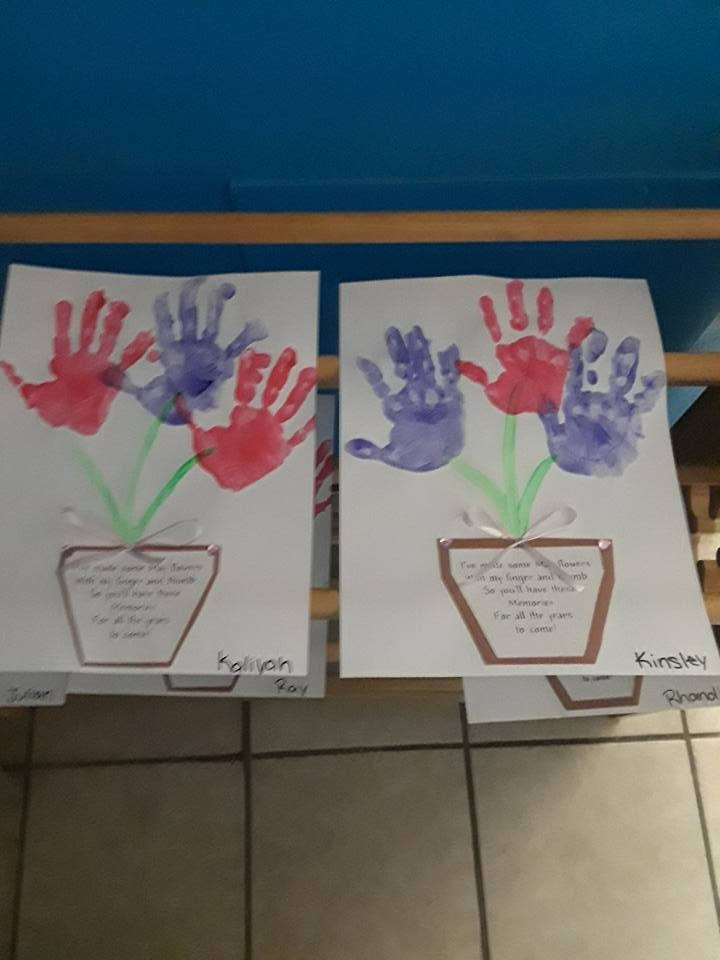 Kids' Hand Prints