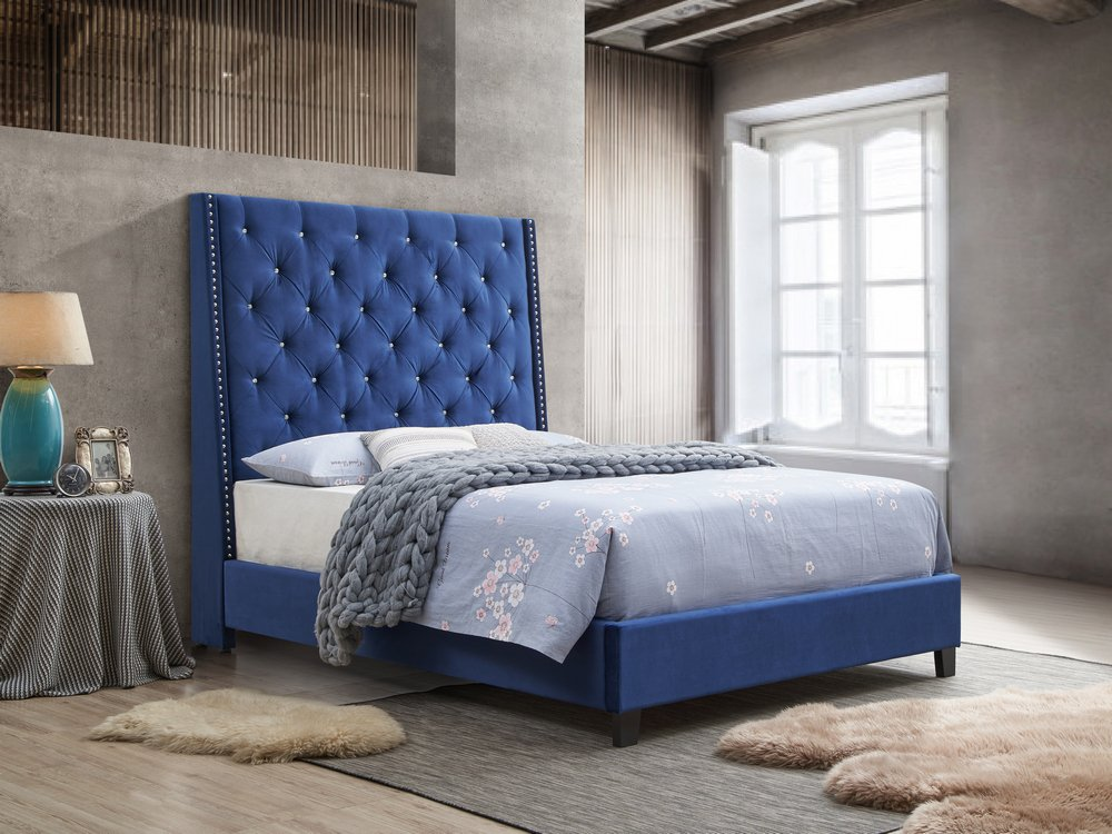 5265 Chantilly Blue Bed