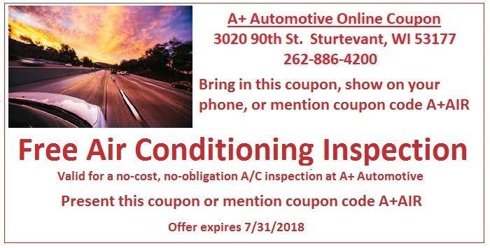 Buy 4 Tires, get a free alignment  coupon - A+ Automotive