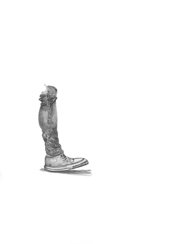 El Primer paso, 2015 Acuarela sobre papel 20 x 20 cm 2015