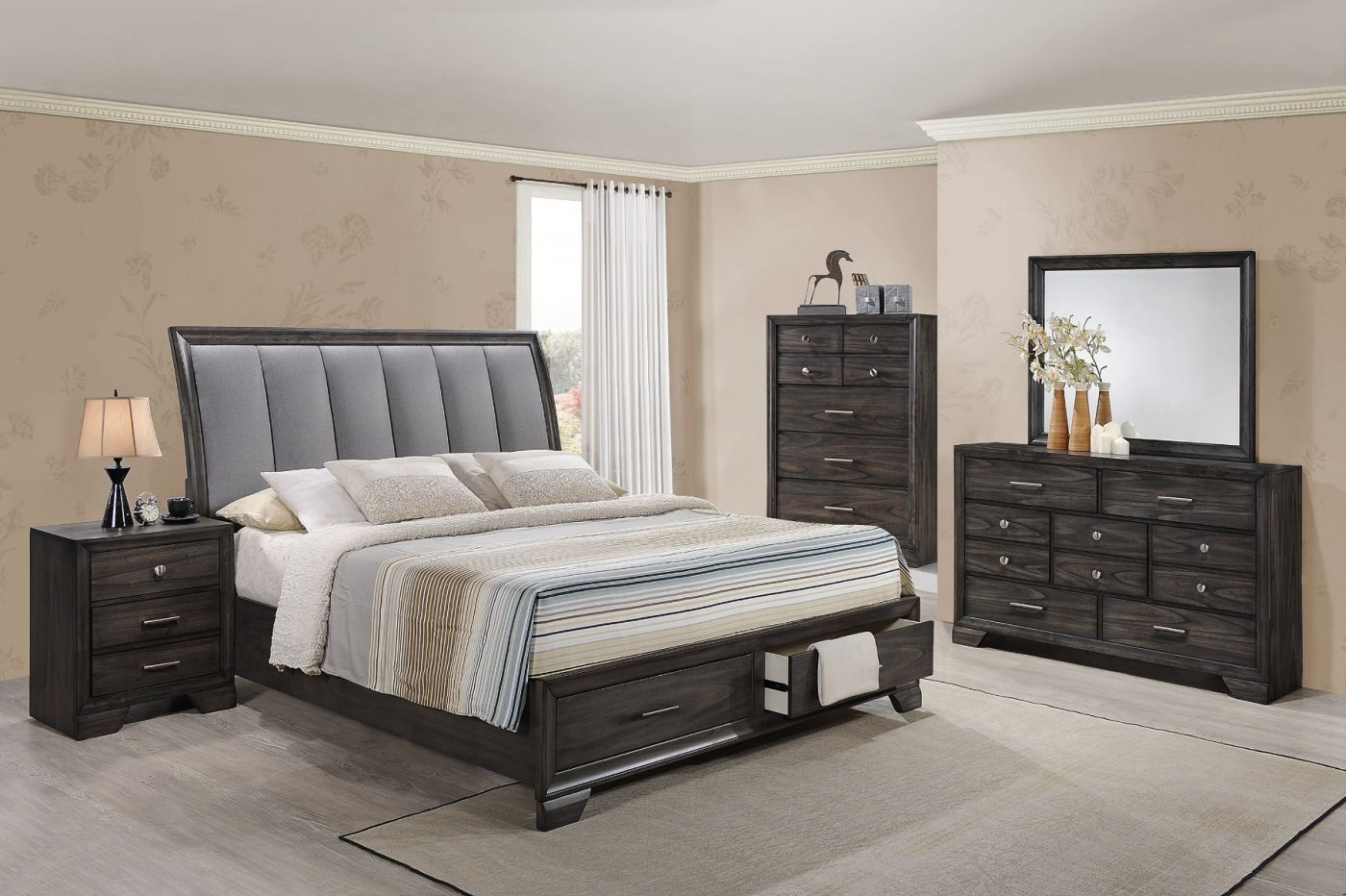 Bedroom Groups with Underbed Storage