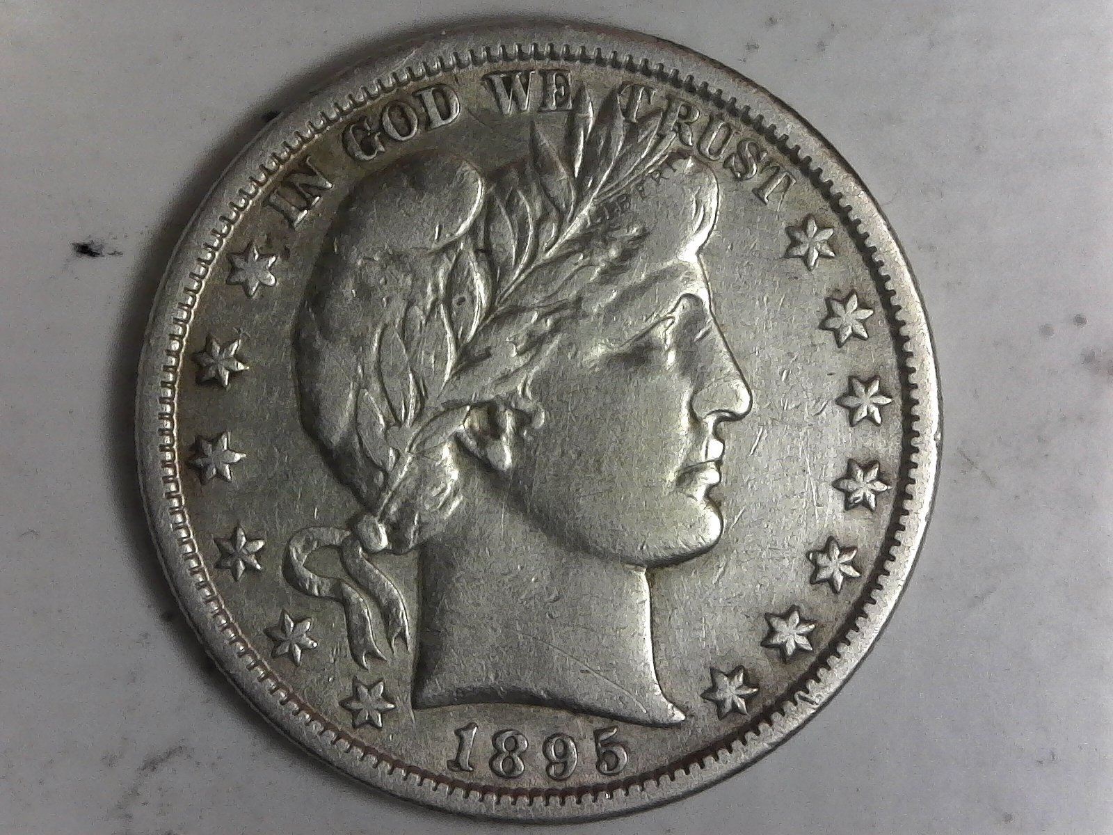 Click on Barber Half Dollar for Online Inventory