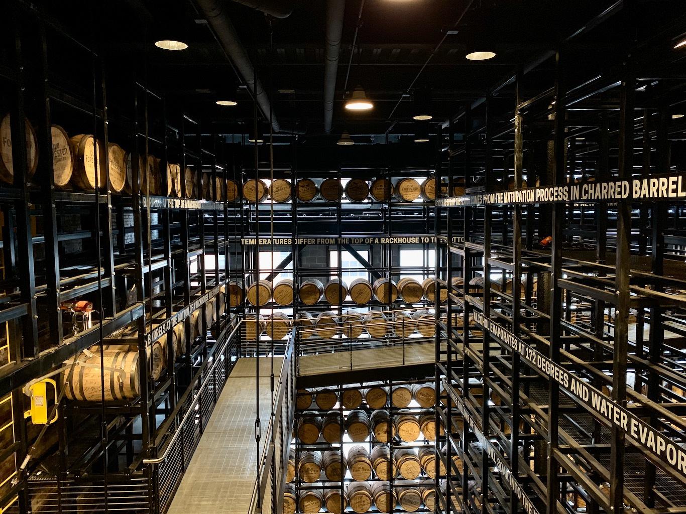 Barrel Warehouse - Old Forester Distillery