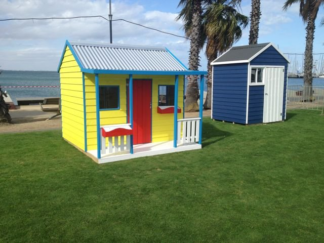 on Geelong beachfront, next to a Huckleberry cubby