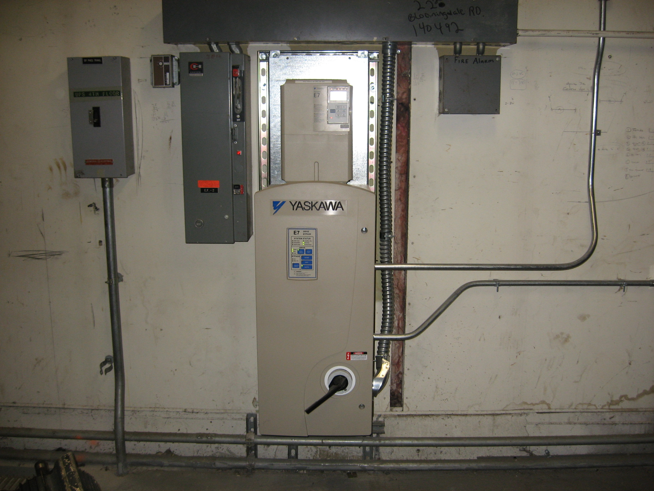 Yaskawa Electrical Panel