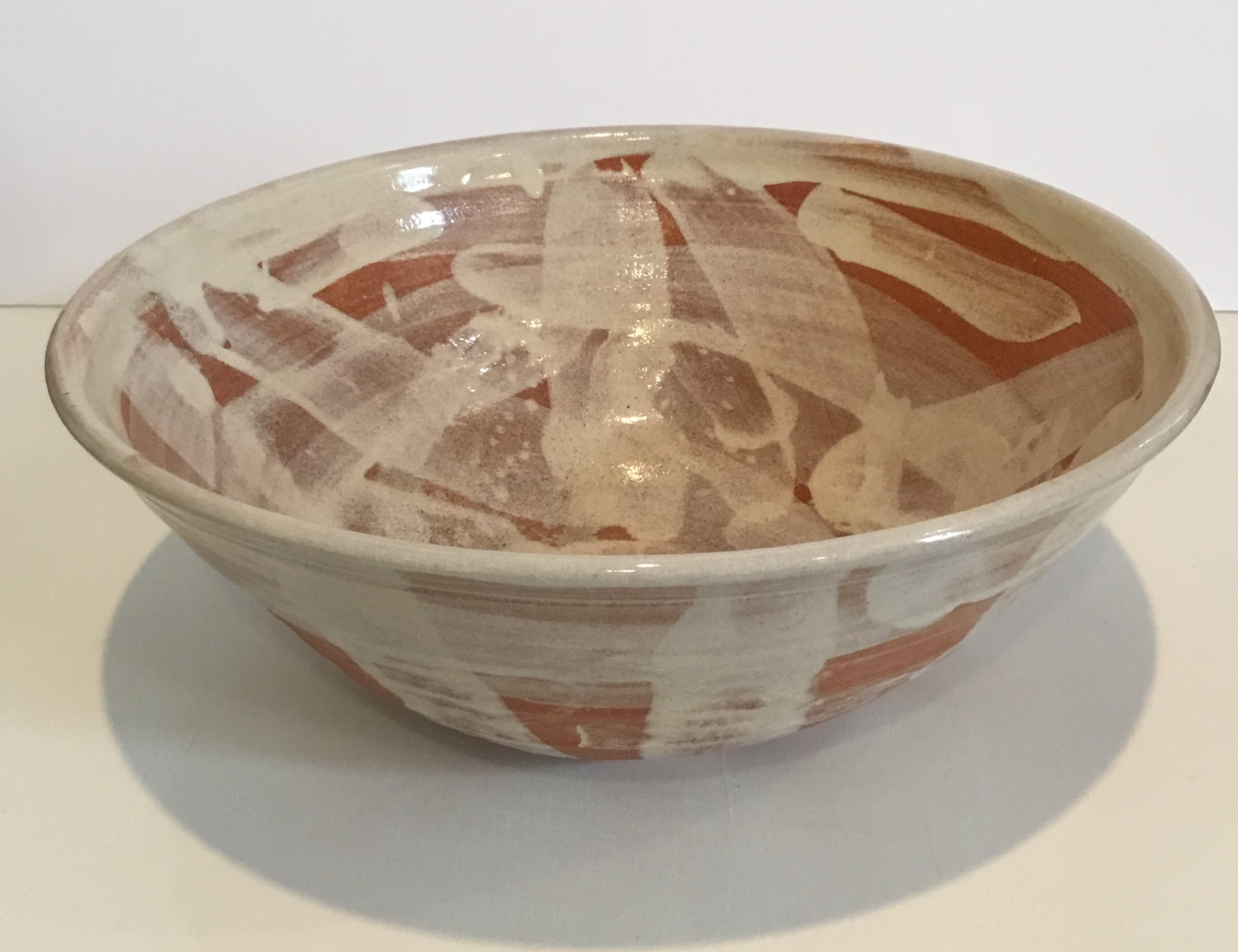 "L Bowl Ceramic 13.5"" D $52."