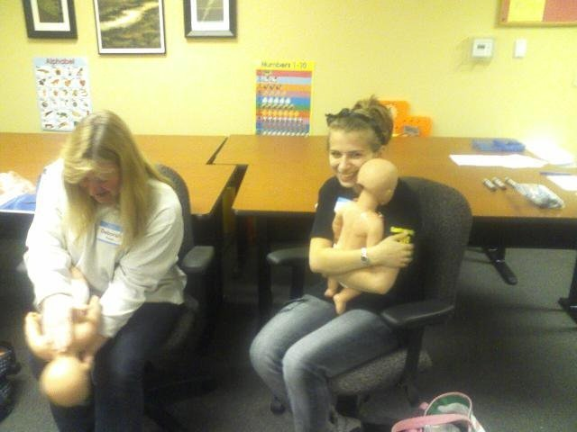 Infant Choking Training