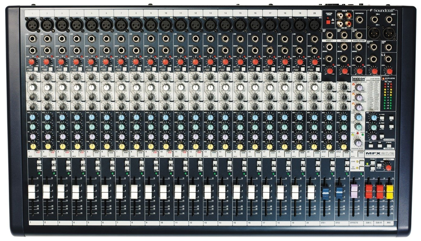 SoundCraft MFXI20 Hire