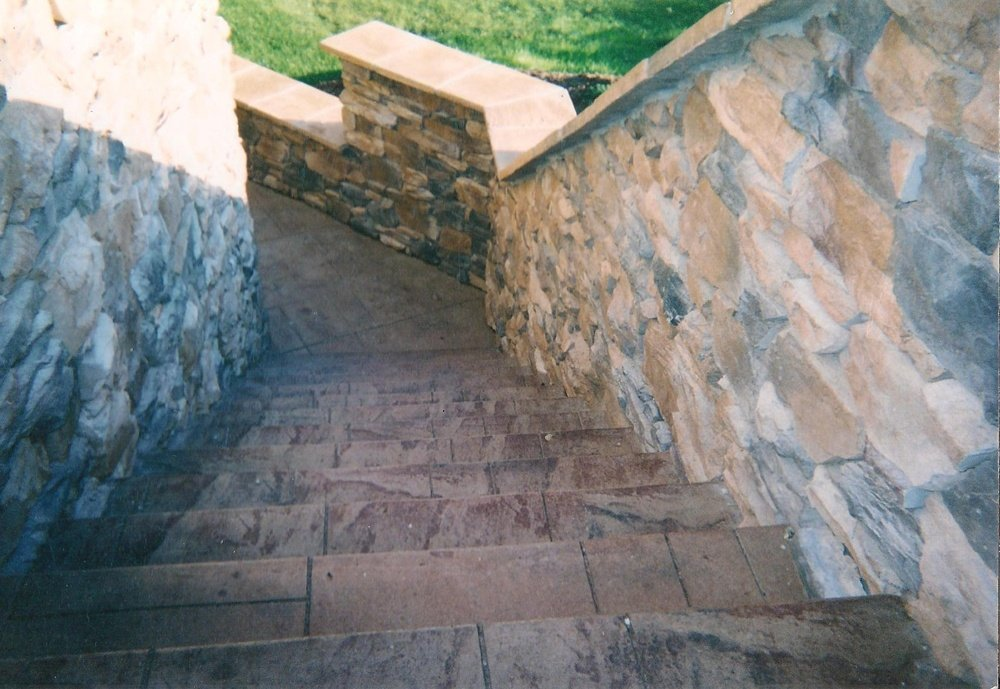 Random slate steps