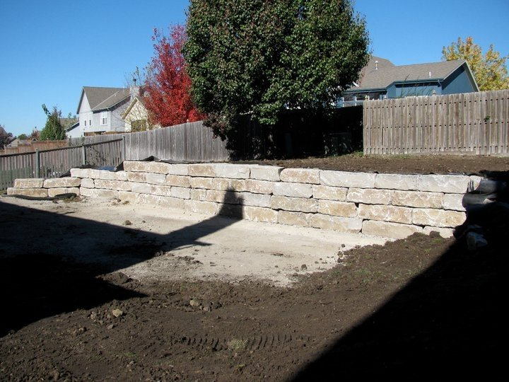 Structural Retaining Wall 1