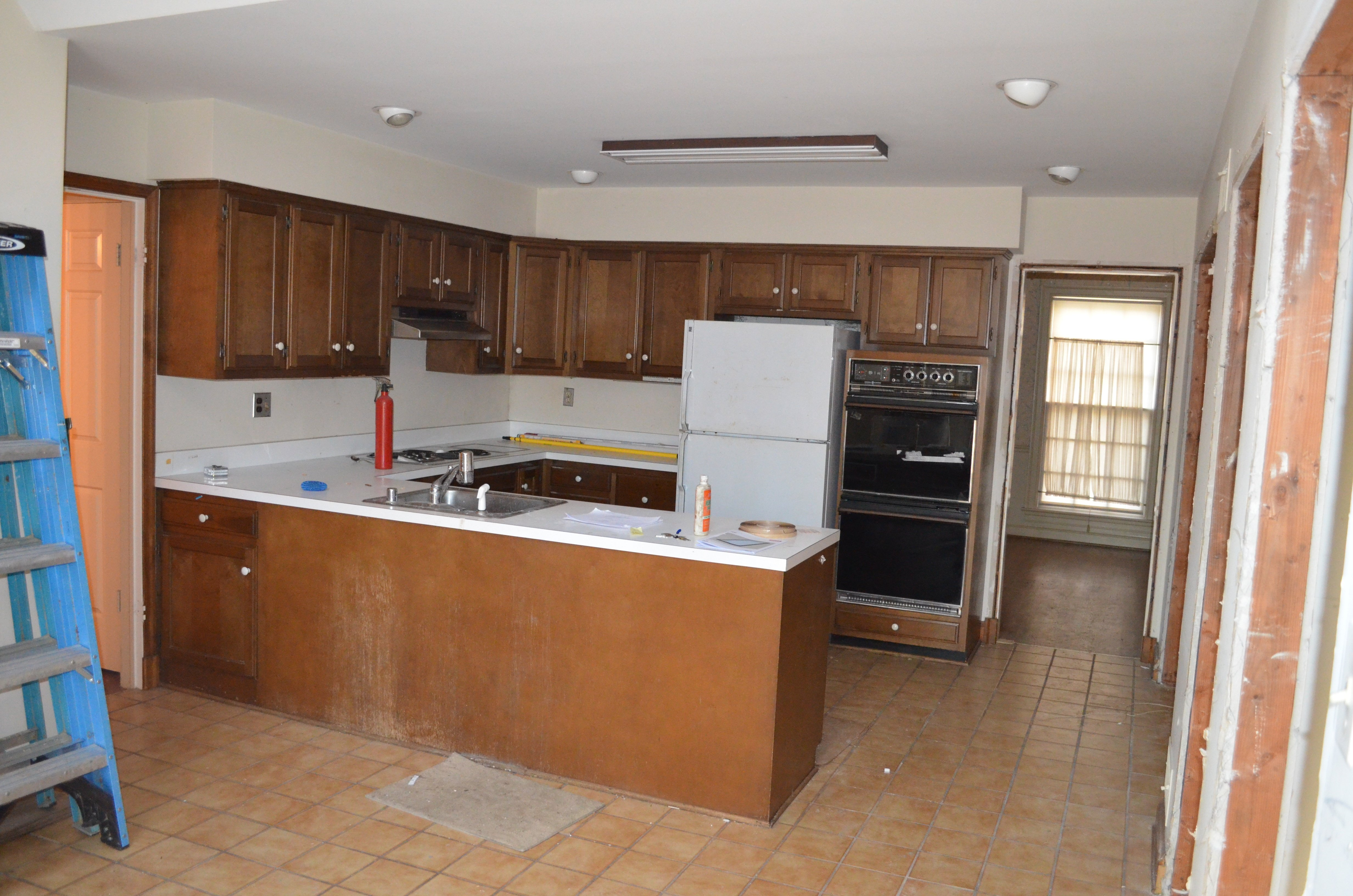 kitchen remodel before G
